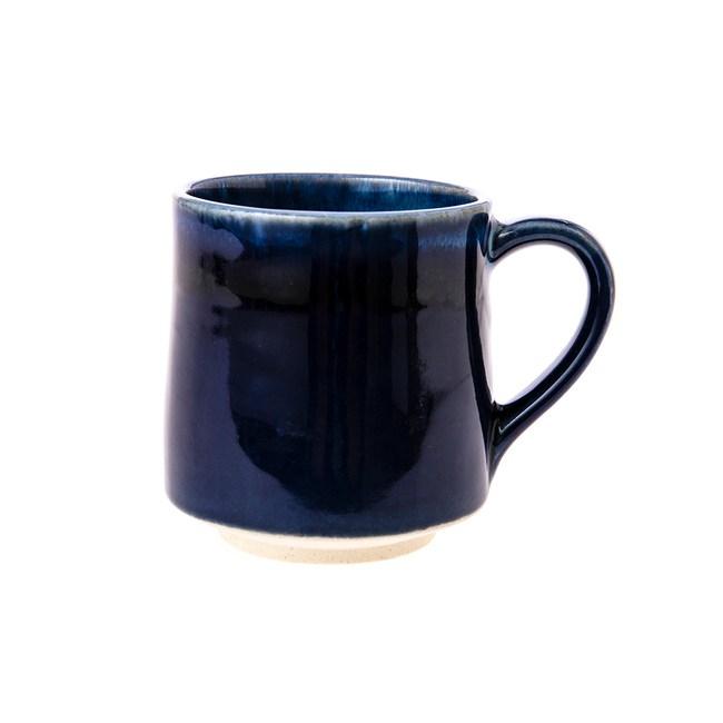 日本美濃燒-金多田中馬克杯藍