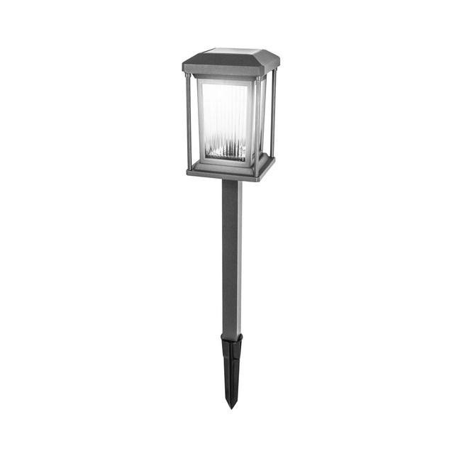 KINYO 金屬太陽能雙LED庭園燈 GL-6035