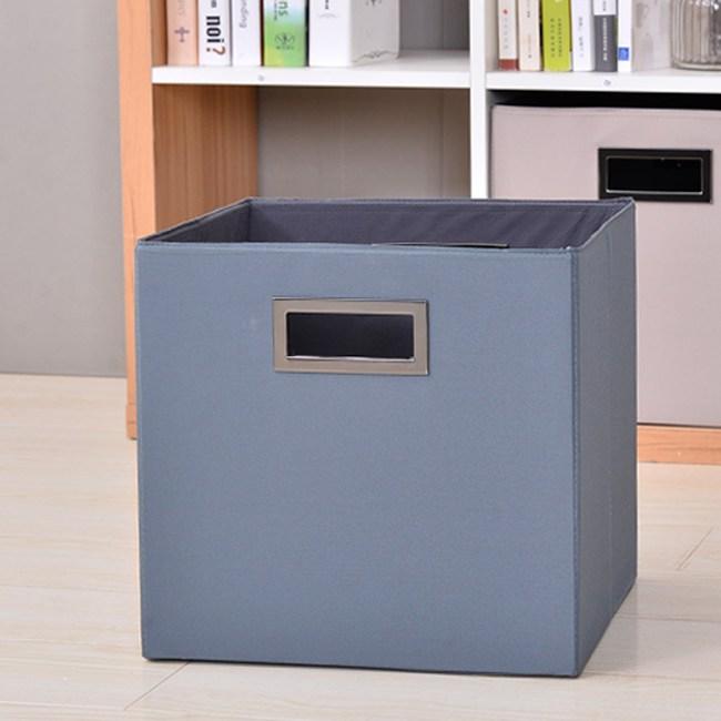布質收納箱-藍色