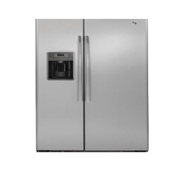 GE 美國 奇異 GZS22DSSS 702L 對開門冰箱 不鏽鋼灰色