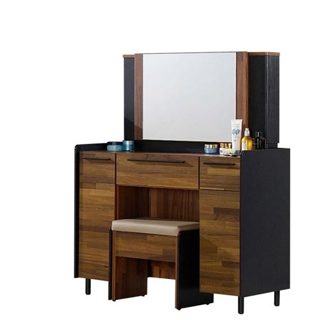 畢卡索3尺雙色鏡台(含椅)