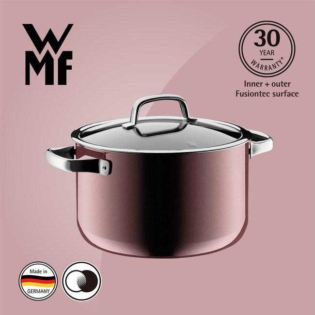 WMF Fusiontec 高身湯鍋 24cm 6.4L (赭紅色)