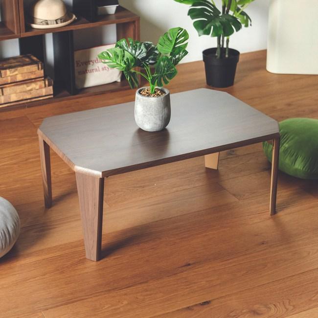 日式八角折疊和室桌(2色) 完美主義 I0303胡桃