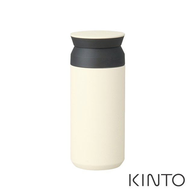 日本KINTO 隨行保溫瓶500ml-白