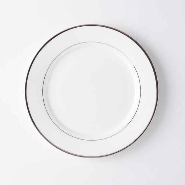 HOLA銀迴骨瓷平盤20.5cm