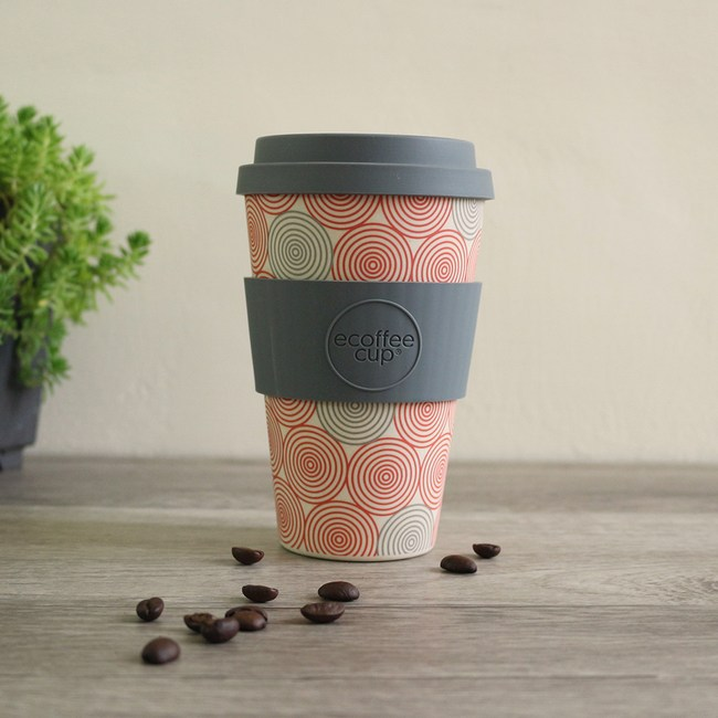 Ecoffee Cup|環保隨行杯14oz(迷幻漩渦)