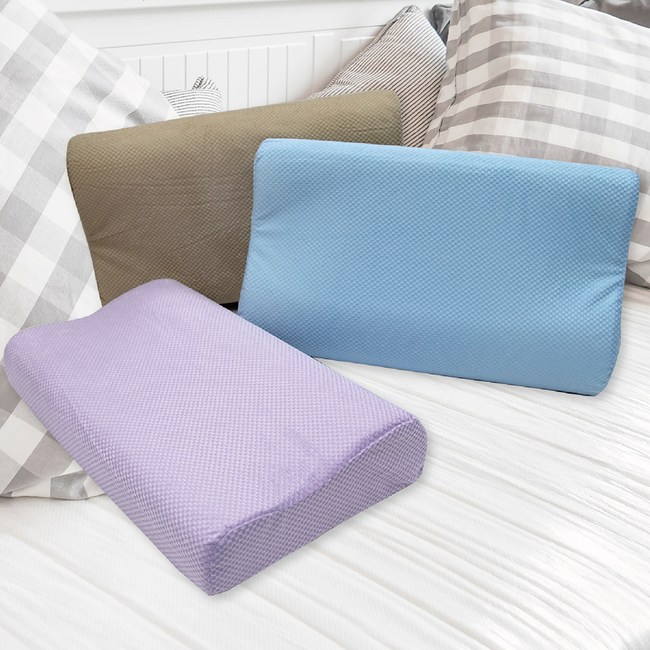 【Victoria】3D工學記憶枕  顏色隨機出貨(2顆)