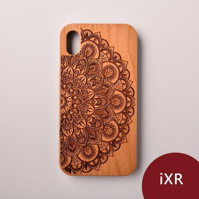 Woodu 木製手機殼 曼陀羅 iPhone XR適用