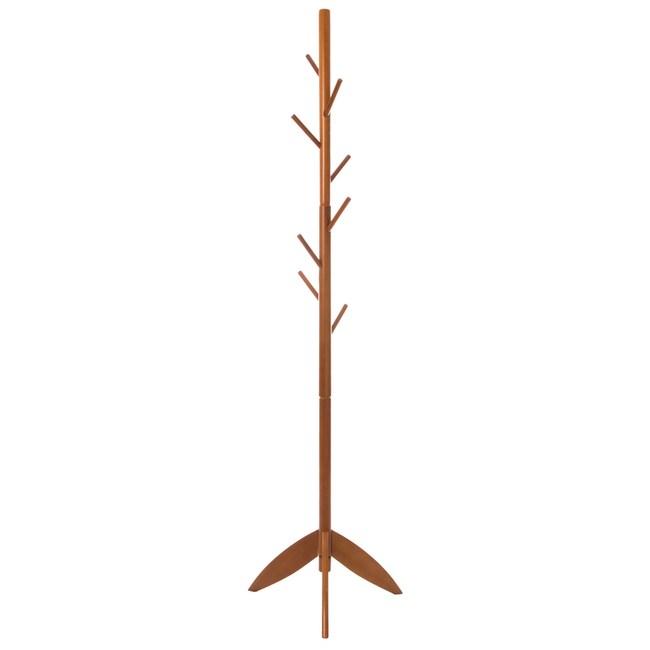 樹枝衣架 櫸木 深色款 型號HS-YJ