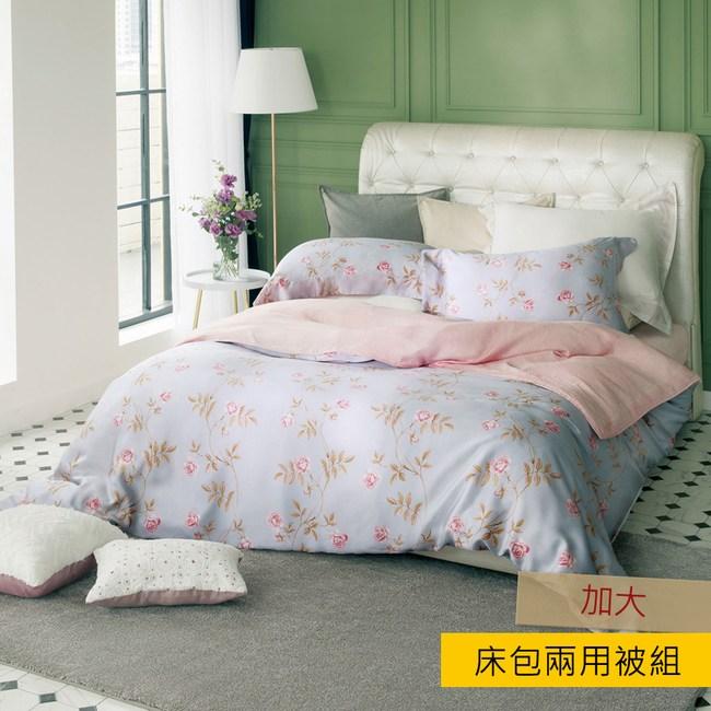 HOLA 禾風天絲床包兩用被組 加大