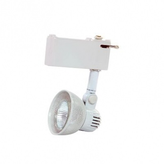 MR16鐵網型鋁合金軌道燈白色