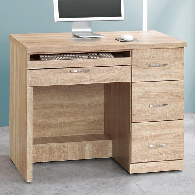 【YFS】艾薇橡木3.2尺電腦桌-96x54x78cm