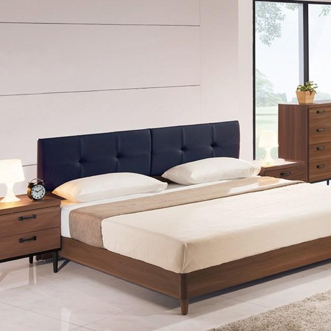 【YFS】亞德里恩5尺淺胡桃色床頭片-152x8x93cm