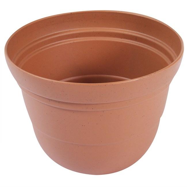 塑質素陶盆8吋 紅綠 8S 混款