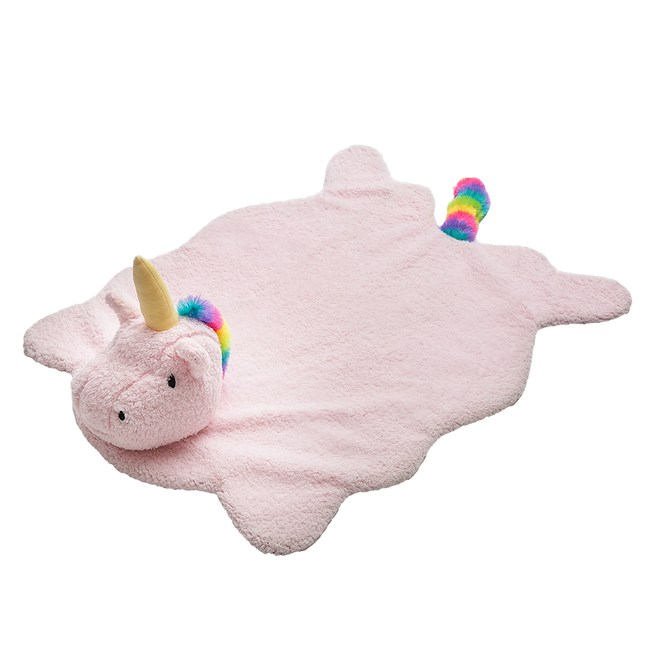 JohoE嚴選 彩虹獨角獸寵物狗窩貓窩睡墊