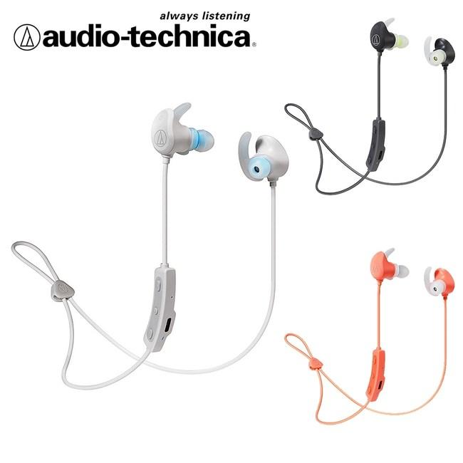 鐵三角 ATH-SPORT60BT 藍牙無線耳機麥克粉橘