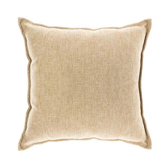 浮紋編織抱枕 45x45cm 卡其