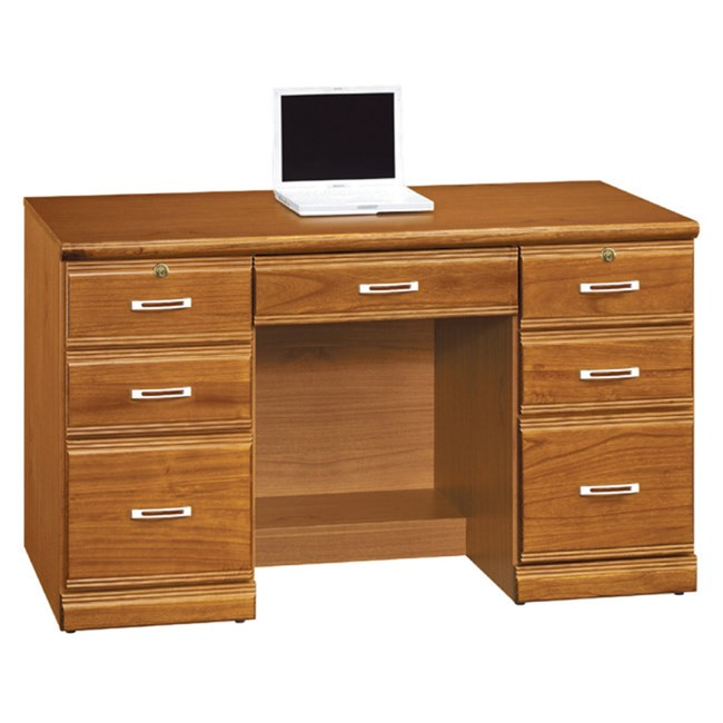 【YFS】瑞爾樟木實木4.2尺書桌下座-126x58.5x75cm
