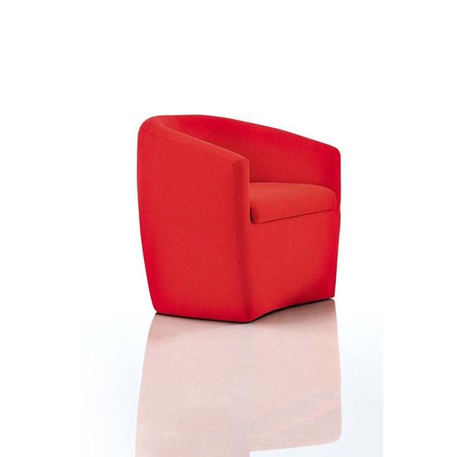 【obis】紅布小沙發