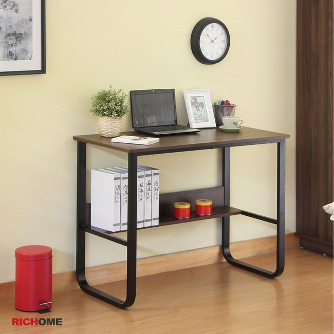 【RICHOME】華特工作書桌(2色)白橡木色