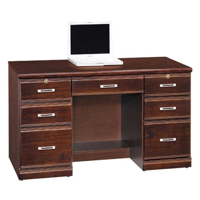 【YFS】羅倫胡桃實木4.2尺書桌下座-126x58.5x75cm