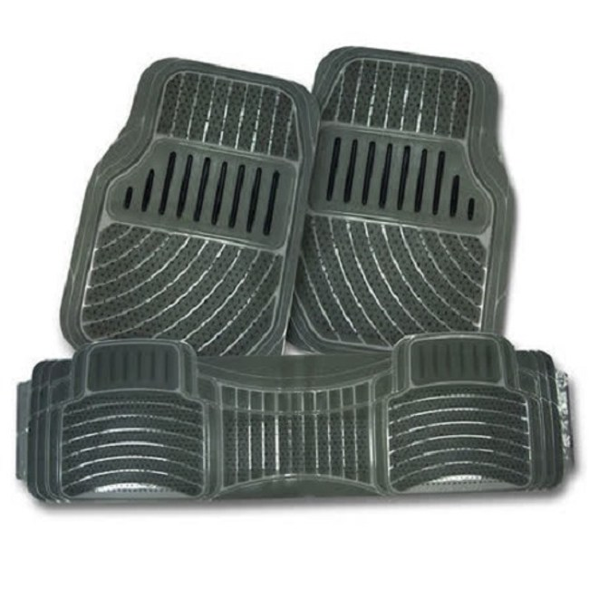 通用型3片式車用踏墊-煙灰(6133)