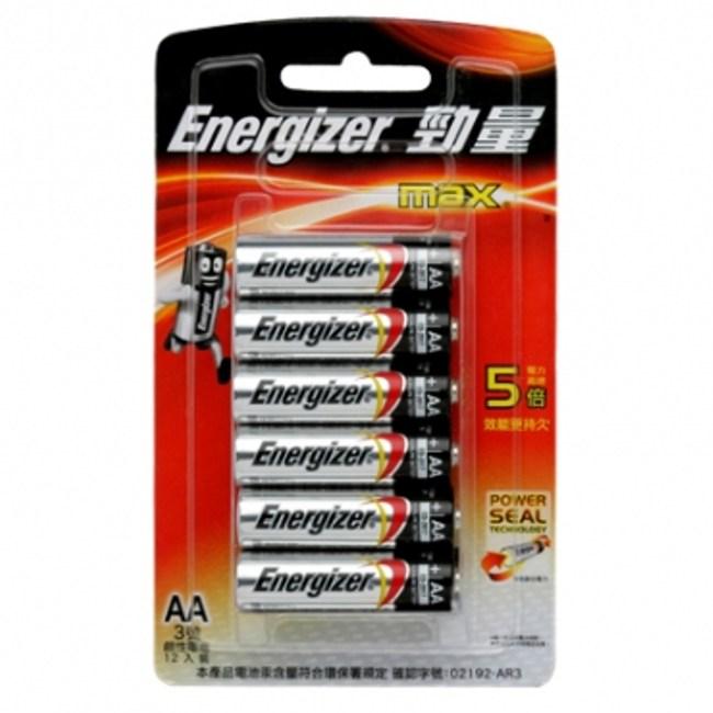 勁量鹼性3號電池 -12入
