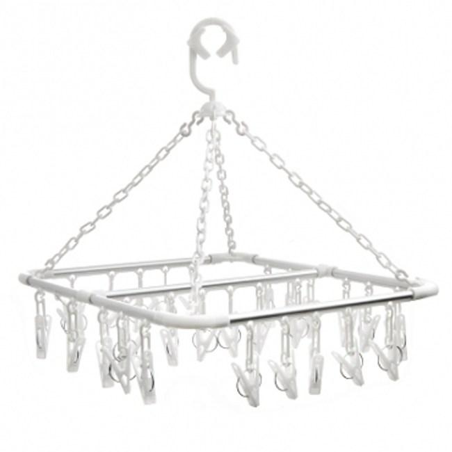 方形鋁合金吊巾架 28夾