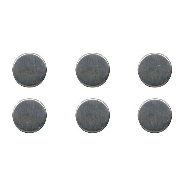 法國品牌 Compactor 不鏽鋼圓形磁鐵 6入