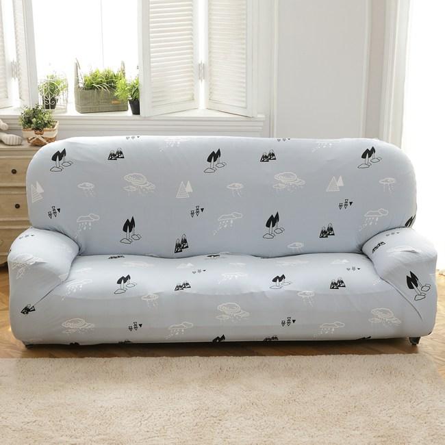 【歐卓拉】雲之谷彈性沙發套-2人