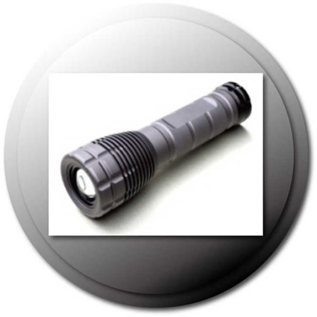 PRO特選雙電源充電手電筒(L20B)