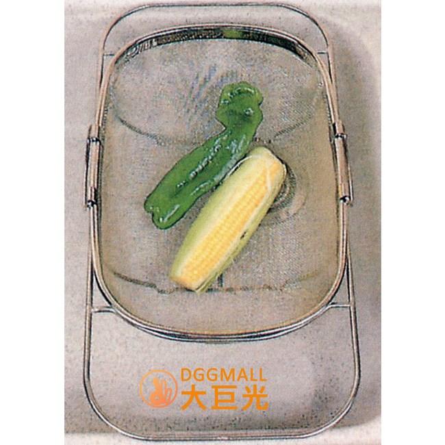 【大巨光】不鏽鋼洗菜籃-伸縮框(3067)