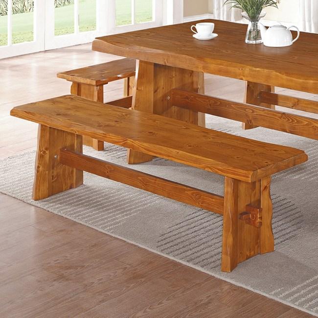 【YFS】艾布全實木長板凳-165x35x45cm
