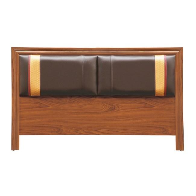 【YFS】諾曼5尺柚木床頭片-154x2x93cm
