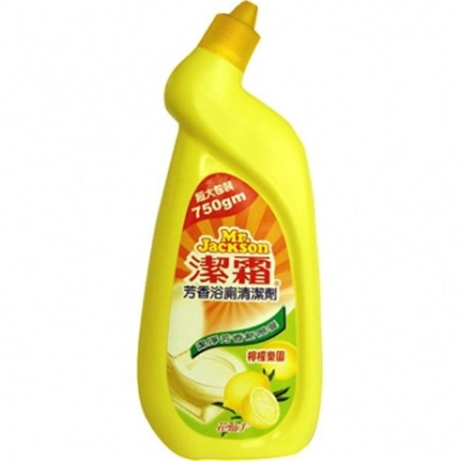 潔霜浴廁清潔劑檸檬750ML