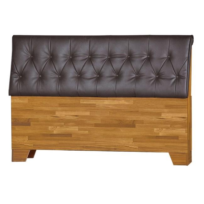 【YFS】米契爾5尺集成木床頭片-155x15x98cm