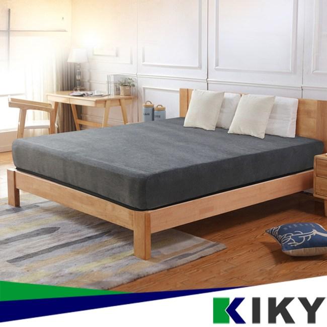 【KIKY】無印棉麻高支撐獨立筒床墊-雙人5尺