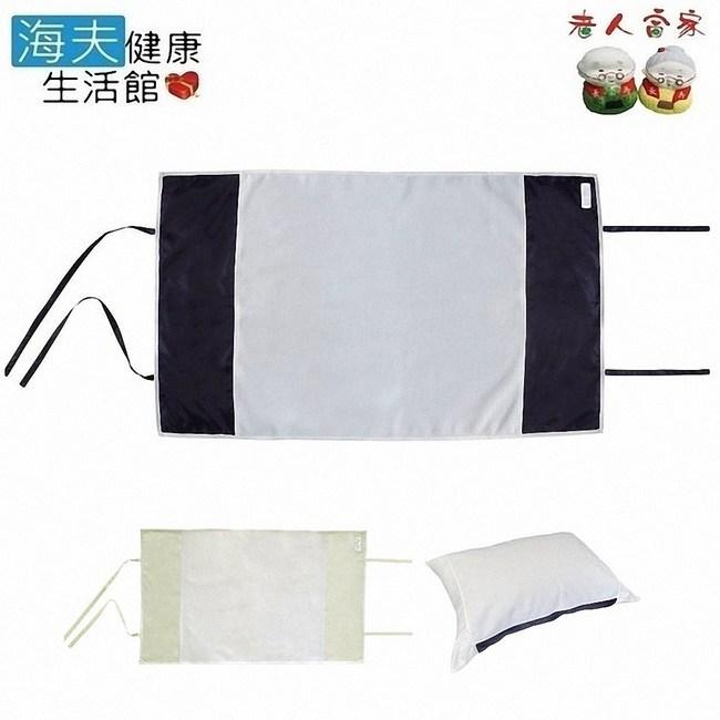 【老人當家 海夫】森谷 消臭制菌 乾爽舒適 枕巾白色