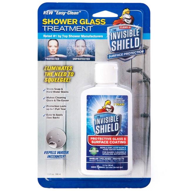 美國 Clean-X 奈米撥水鍍膜劑 長效型 100ml Invisible Shield