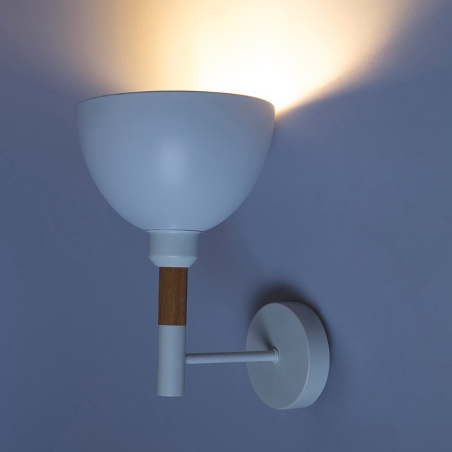 (組)特力屋萊特烤漆壁燈白金屬燈罩