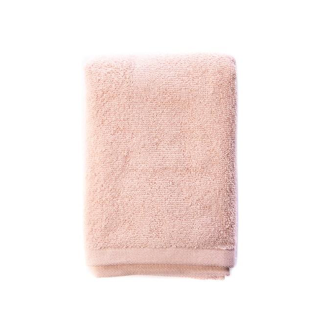 HOLA 土耳其純棉毛巾2入(雲粉)40x80cm
