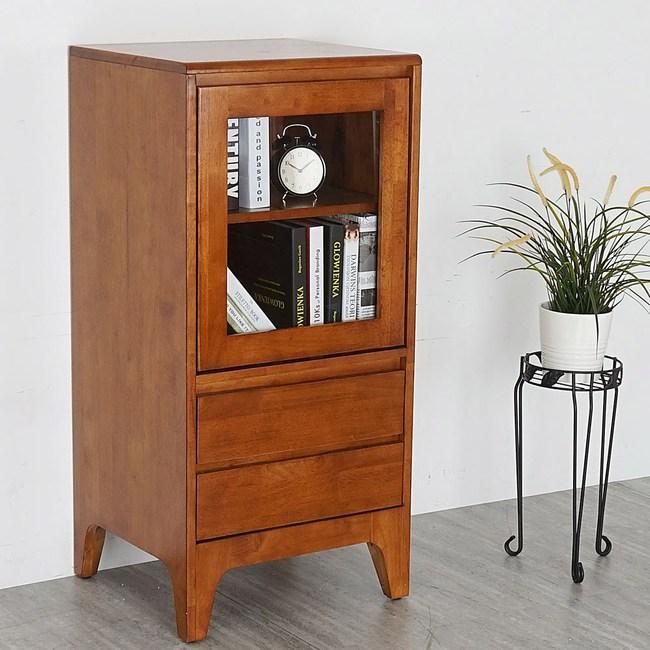 Homelike 喬拉實木置物櫃-柚木色