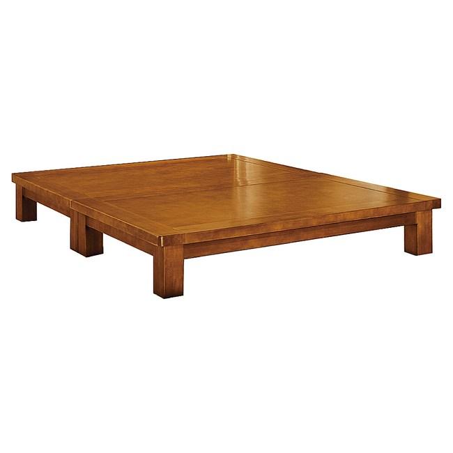 【YFS】伊登6尺樟木色床底-182x188x27cm