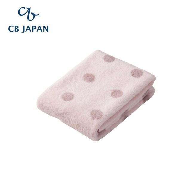 CB Japan 點點系列超細纖維3倍吸水毛巾(2入)甜心粉