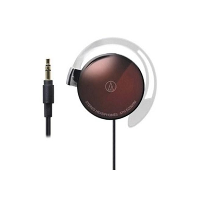 鐵三角 ATH-EQ300M 棕色 耳掛式耳機 超輕薄20g