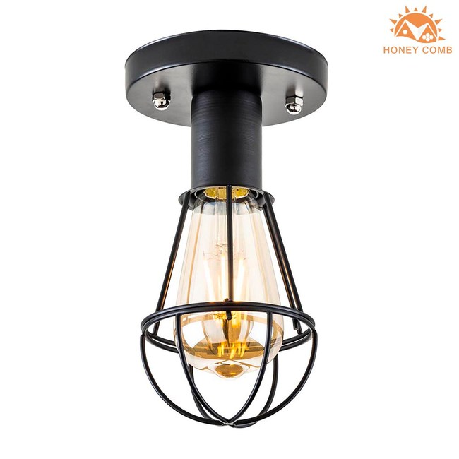 HONEY COMB 工業風吸頂單燈 BL-22196