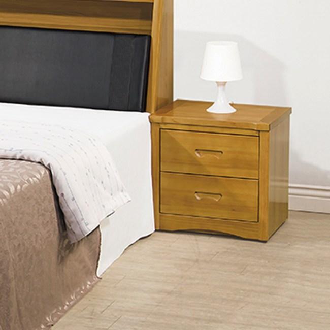 【YFS】貝克實木床頭櫃-55x40x48cm
