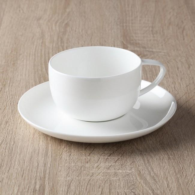 HOLA  緻白骨瓷咖啡杯碟