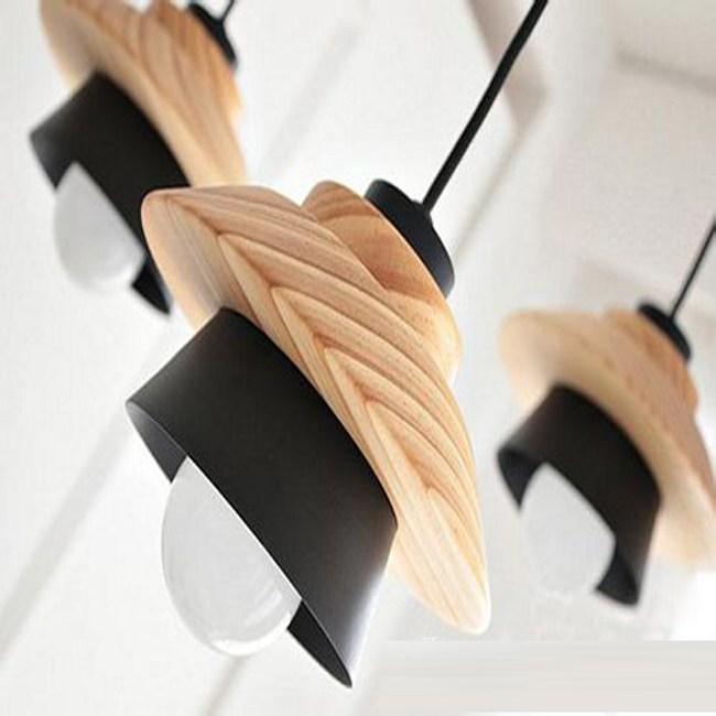 YPHOME 北歐原木金屬吊燈 PN021321