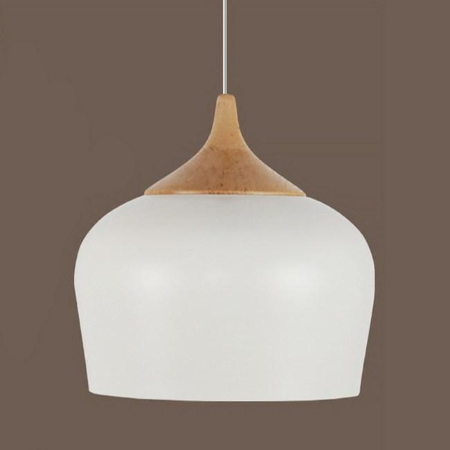 HONEY COMB 時尚北歐風單燈餐吊燈 白色 TA8204